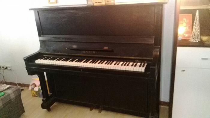 pianomovers haydn klavier schwarz echt holz erbst ck. Black Bedroom Furniture Sets. Home Design Ideas