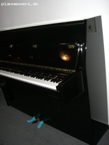pianomovers yamaha eterna klavier 110 schwarz poliert. Black Bedroom Furniture Sets. Home Design Ideas