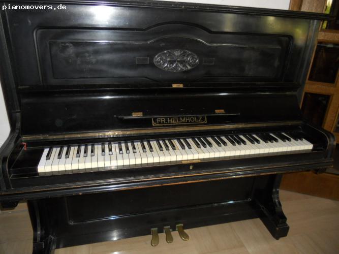pianomovers helmholz klavier schwarz. Black Bedroom Furniture Sets. Home Design Ideas