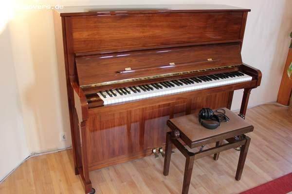 pianomovers zimmermann klavier z1 nussbaum poliert. Black Bedroom Furniture Sets. Home Design Ideas