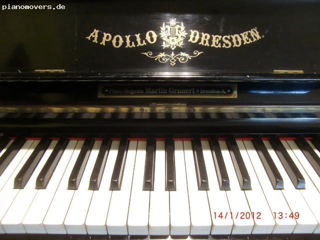 pianomovers apollo klavier mit leisestellmechanik schellack. Black Bedroom Furniture Sets. Home Design Ideas