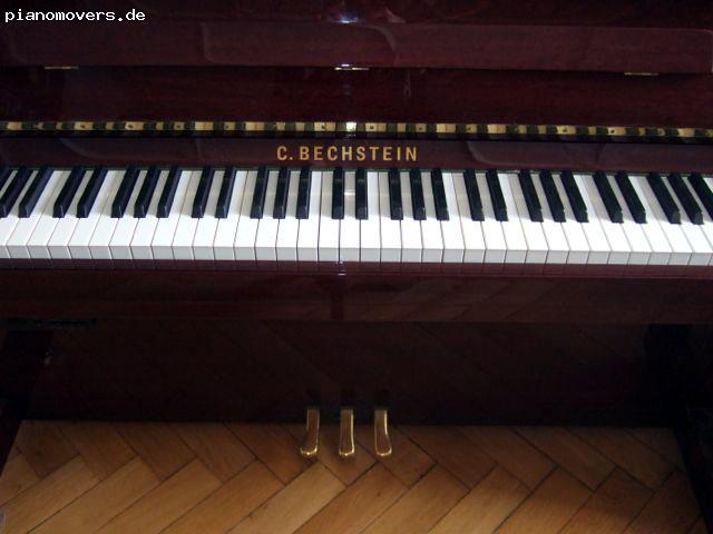 pianomovers c bechstein klavier classic 124 mahagoni. Black Bedroom Furniture Sets. Home Design Ideas