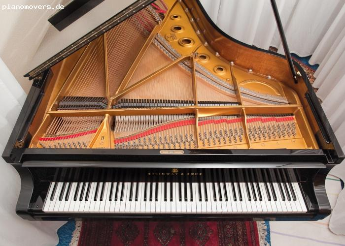 pianomovers wundersch ner gepflegter steinway fl gel b. Black Bedroom Furniture Sets. Home Design Ideas