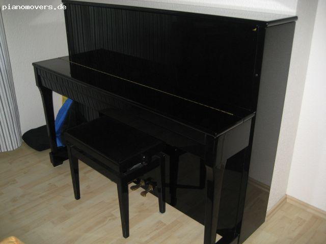 pianomovers sehr sch nes vogel by schimmel klavier v115t schwarz hochgl nzend poliert. Black Bedroom Furniture Sets. Home Design Ideas