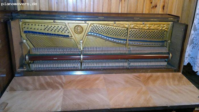 pianomovers gepflegtes schimmel leipzig klavier braun. Black Bedroom Furniture Sets. Home Design Ideas