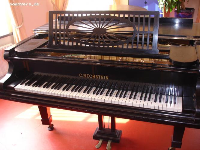 pianomovers sehr sch ner bechstein fl gel modell c schwarz. Black Bedroom Furniture Sets. Home Design Ideas