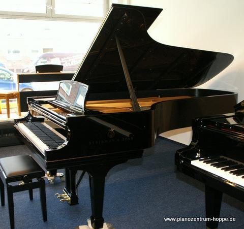 pianomovers steinway fl gel d 274 schwarz poliert. Black Bedroom Furniture Sets. Home Design Ideas