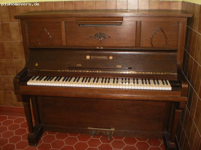 pianomovers sch nes altes schimmel klavier von 1925. Black Bedroom Furniture Sets. Home Design Ideas
