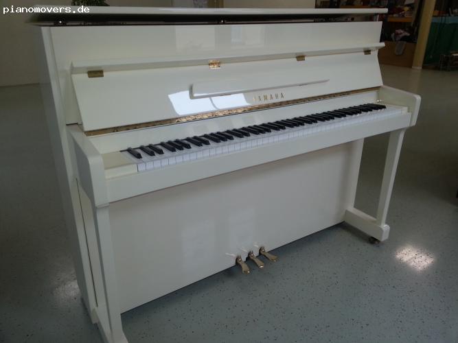 pianomovers yamaha klavier p112 nt ungenutzt neuwertig wei. Black Bedroom Furniture Sets. Home Design Ideas