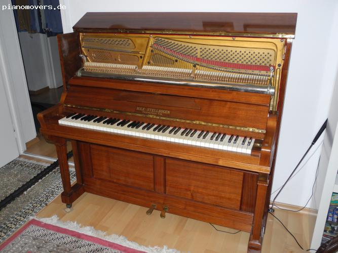 pianomovers sch nes renoviertes jugendstil klavier mit. Black Bedroom Furniture Sets. Home Design Ideas