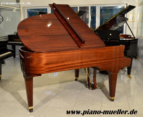 pianomovers pleyel fl gel in mahagoni poliert gebaut bei schimmel. Black Bedroom Furniture Sets. Home Design Ideas