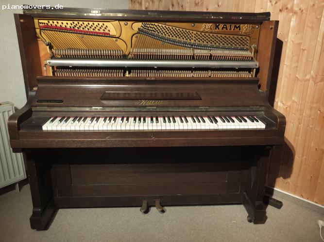 pianomovers kaim cantator klavier gebraucht im guten zustand zum verkauf. Black Bedroom Furniture Sets. Home Design Ideas