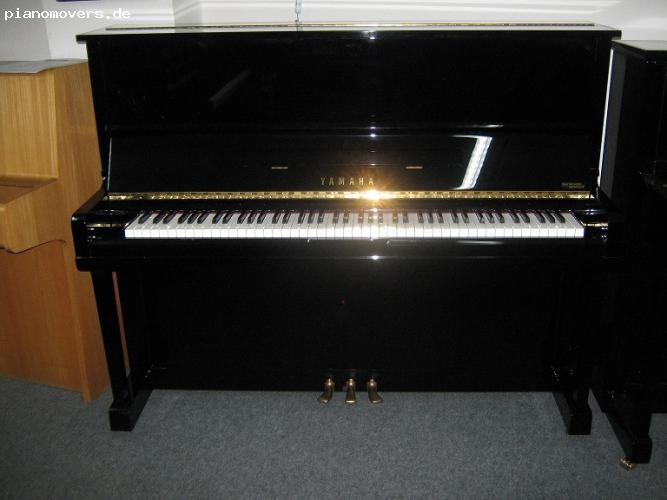 pianomovers junges gebrauchtes yamaha u 1 klavier baujahr 1992. Black Bedroom Furniture Sets. Home Design Ideas